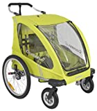 Joovy Cocoonx2 Double Enclosed Stroller, Greenie
