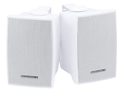 Monoprice 106970 3-1/4-Inch 30W Nominal And 60W Max 2-Way Indoor/Outdoor Waterproof Pair Speakers