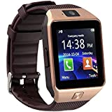 Intex AQUA GLORY COMPATIBLE Bluetooth Smart Watch Phone With Camera and Sim Card Support With Apps like Facebook and WhatsApp Touch Screen Multilanguage Android/IOS Mobile Phone Wrist Watch Phone with activity trackers and fitness band features by Estar