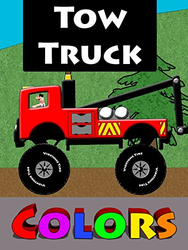Tow Truck Colors For Kids