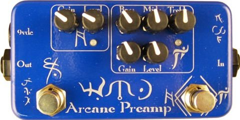 Affordable WMD Devices Arcane Preamp Fuzz Boost Effect Pedal