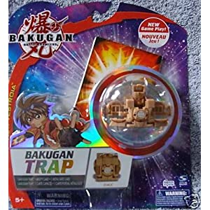 Bakugan Vestroia Bakuneon FACTORY SEALED Single Figure Special Attack TRAP Sub Terra (Brown) Zoack