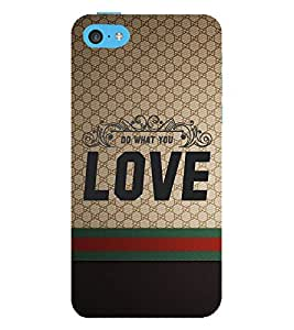 Do Want You Love 3D Hard Polycarbonate Designer Back Case Cover for Apple iPod Touch 6 (6th Generation)