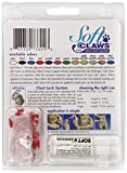 Soft Claws for Cats - CLS (Cleat Lock System), Size Medium, Color Red