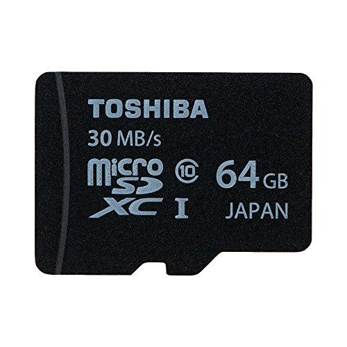 東芝 microSDXC 64GB 超高速Class10 UHS-I 防水 耐X線 日本製 TOSHIBA バルク品