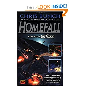 Homefall: Book Four of the Last Legion by Chris Bunch