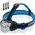 Headlamp Flashlight with Red LED Ligh...