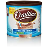 Ovaltine Rich Chocolate, 18 Oz