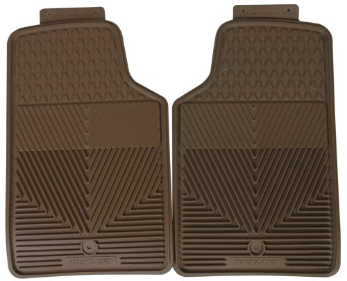 Highland 4402600 All-Weather Tan Front Seat Floor Mat front-486995