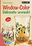 Window-Color-Vorlage: Window-Color, Dekorativ umrankt