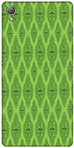 Snoogg Life Symptoms Green Trees Designer Protective Back Case Cover For Sony...