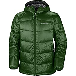 Columbia Gold 650 Turbodown Hooded Jacket - Men\'s Woodland, M
