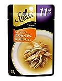 シーバ (Sheba) アミューズ 11歳以上 お魚フィレに柔らか小魚とかつおぶし添え 魚介の旨みスープ 40g×12個入り<SAM21>