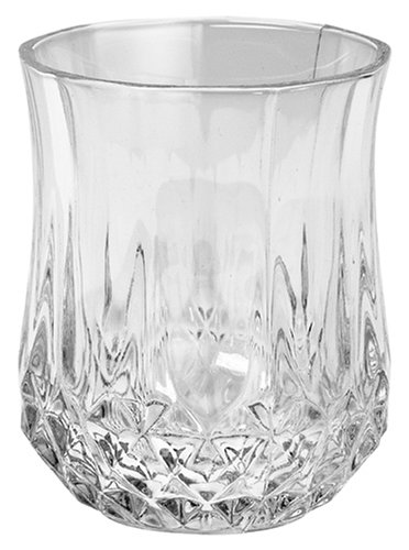 Cristal d'Arques, Longchamp Verre à liqueur 45ml, sans repère de remplissage, 6 Verres