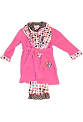 Bunz Kidz Little Girl's Peace Pajama Set
