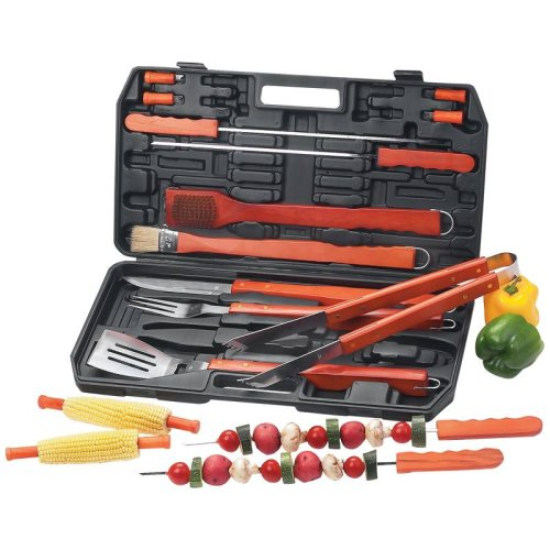 Best Quality 19Pc Tool Set By Chefmaster™ 19Pc Barbeque Set