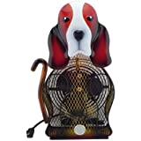 WBM HBL-9022 Himalayan Breeze Decorative Fan Basset Hound - Large