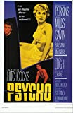 Alfred Hitchcocks PSYCHO with Anthony Perkins Vera Miles John Gavin 11 x 17 Movie Poster Litho