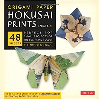 "Origami Paper - Hokusai Prints - Large 8 1/4"" - 48 Sheets: (Tuttle Origami Paper) written by Tuttle Publishing"