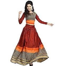 bridal collection designer red printed lahenga choli