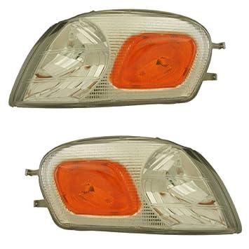01 02 03 04 05 New Corner Parking Light Lamp Turn Signal Driver Side Left LH DOT