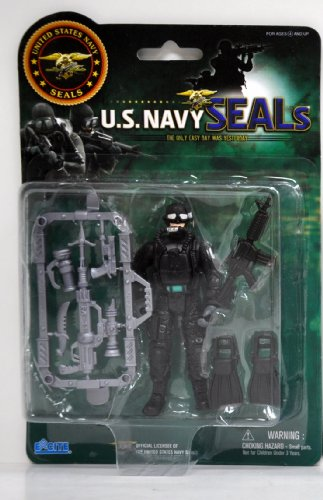 United States Navy Seal Figure with Accessories - Water Gear(styles may vary) - 1