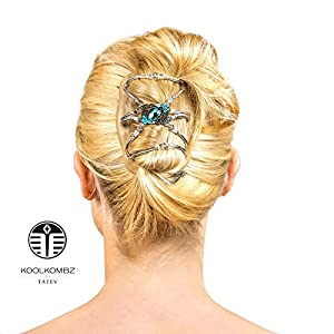 amazoncom hair bun clip for women amp girls with thick