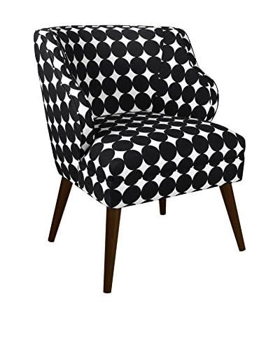 Skyline Furniture Modern Chair, Dotscape Jet
