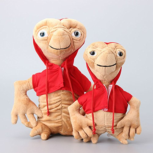 The Extra Terrestrial with Red Coat 9-11 Inch Toddler Stuffed Plush Kids Toys 2 Pcs/set (Dora Teddy Bear compare prices)