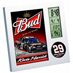 NASCAR Kevin Harvick Digital Desk Clock by WinCraft