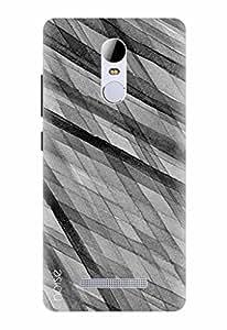 Noise Designer Printed Case / Cover for Xiaomi Redmi Note 3 / Patterns & Ethnic / Monochrome