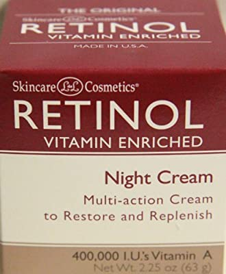 Skincare LdeL Cosmetics Retinol Vitamin Enriched Night Cream 2.25 ounces