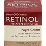 Skincare LdeL Cosmetics Retinol Vitamin Enriched Night Cream 2.25 Oz