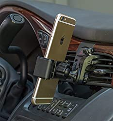 Square Jellyfish Pivot Car Vent Mount for Smartphones and Garmin GPS
