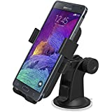 Car Mount, iOttie Easy One Touch XL Windshield Dashboard Car Mount Holder for Amazon Fire Phone and iPhone 6 Plus (5.5), Galaxy S5/S4/Note4/Note3, LG G4