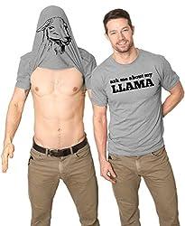 Ask Me About My Llama T Shirt Funny Animal Flip Shirt Cool Llamas Tee by Crazy Dog Tshirts