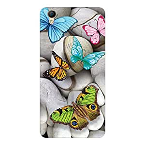 RD Digital Printed Designer Back Cover for Oppo A 37 (Multi-color)