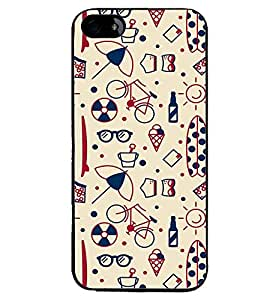 PRINTVISA Abstact Pattern Case Cover for Apple iPhone 5