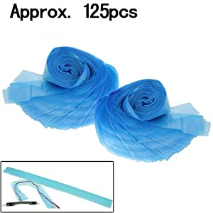 125Pcs Disposable Clip Cord Disposable Covers Sleeves