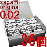 サガミオリジナル002 コンドーム 36個入