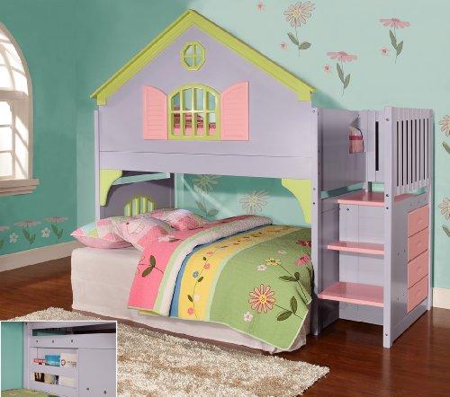 Loft Bed For Kids 1715 front