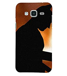 PRINTSHOPPII SUPERHERO Back Case Cover for Samsung Glaxy J3 New Edition (2016)