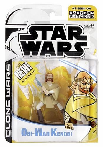 Star Wars ANIMATED FIGURE OBI-WAN
