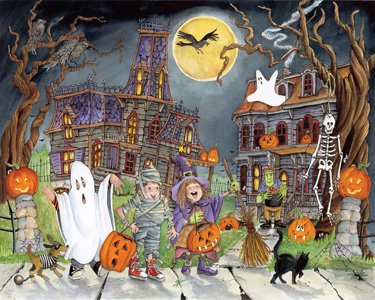 Little Goblins Halloween Jigsaw Puzzle 1000 Piece