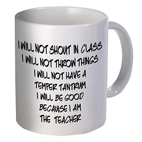 Best funny gift - 11OZ Coffee Mug - Good teacher, school - Perfect for birthday, men, women, present for him, her, dad, mom, son, daughter, sister, brother, wife, husband or friend.