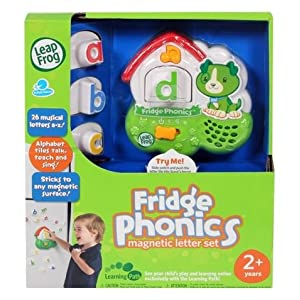 Leap Frog - Fridge Phonics Magnetic Letter set