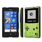 NakedShield Nokia Lumia 521 (Game Boy Color) Total Hard Armor LifeStyle Phone Case