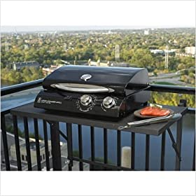 "Cook Number 20"" Electric Grill in Black Porcelain"