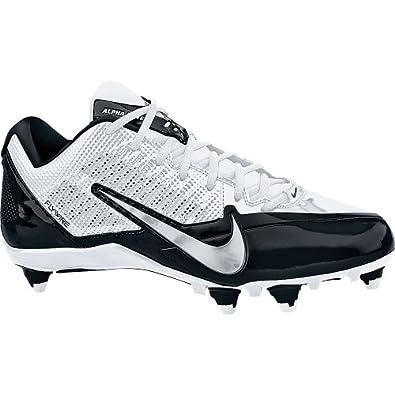 com: Nike Adult Alpha Pro Detachable Football Cleats , WhtGry : Shoes