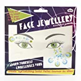 Face Jewels - Blue and Green